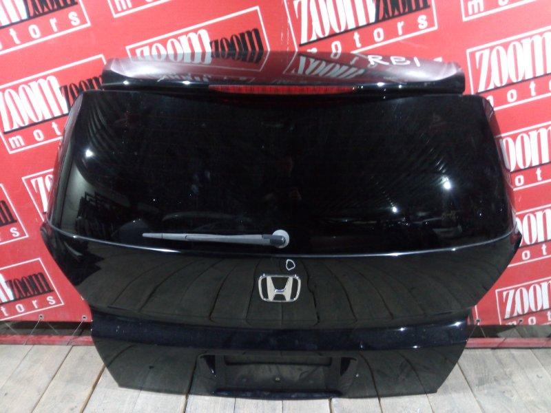 Дверь задняя багажника Honda Odyssey RB1 K24A 2003 задняя черный