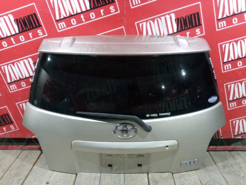 Дверь задняя багажника Toyota Ist NCP60 2NZ-FE 2002 задняя золото