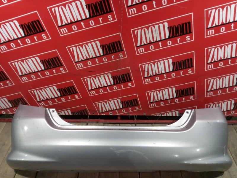 Бампер Honda Fit GD1 L13A 2004 задний серебро