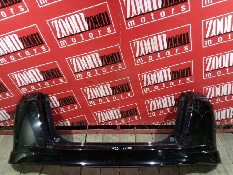 Бампер Honda Freed GB3 L15A 2007 задний баклажан