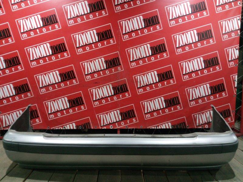 Бампер Nissan Sunny FB15 QG15DE 1998 задний серебро