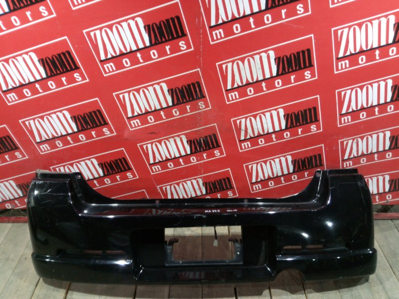 Бампер Suzuki Wagon R Solio MA34S M13A 2000 задний черный