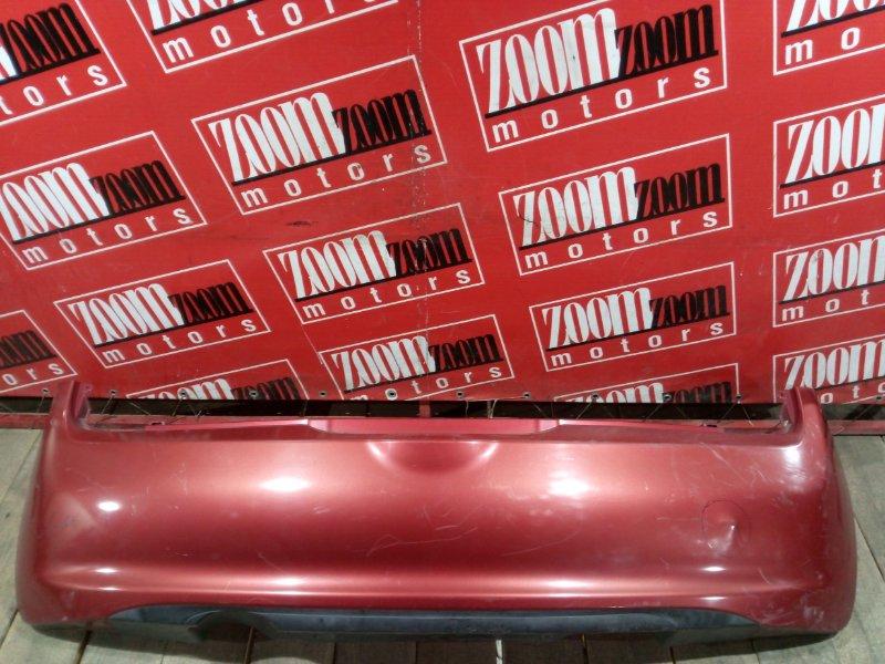 Бампер Nissan March AK12 CR12DE 2002 задний оранжевый