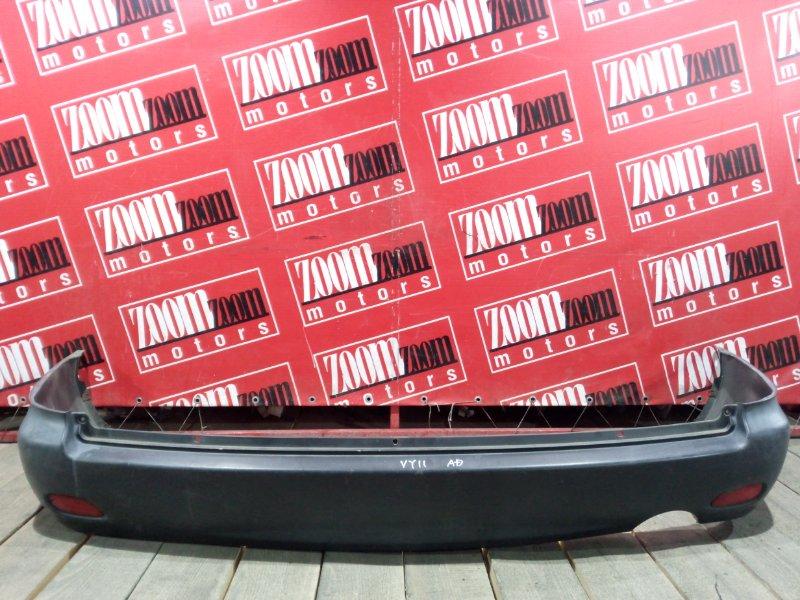 Бампер Nissan Ad Y11 QG13DE 1999 задний черный