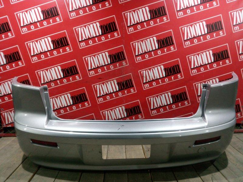 Бампер Mitsubishi Lancer X CY4A 4B11 2007 задний серебро