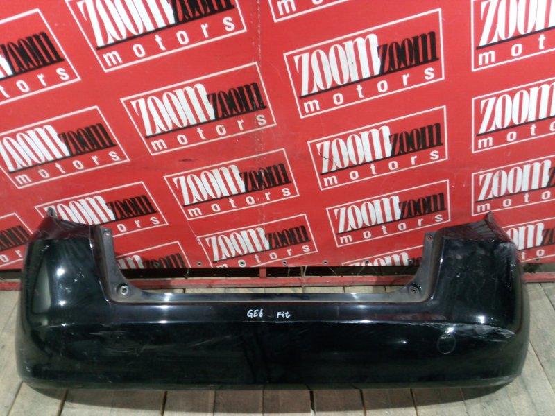 Бампер Honda Fit GE6 L13A 2005 задний черный