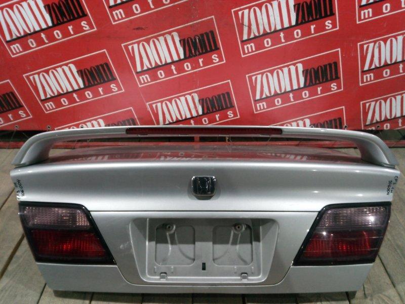 Крышка багажника Honda Accord CF3 F18B 1997 задняя серебро 22-21