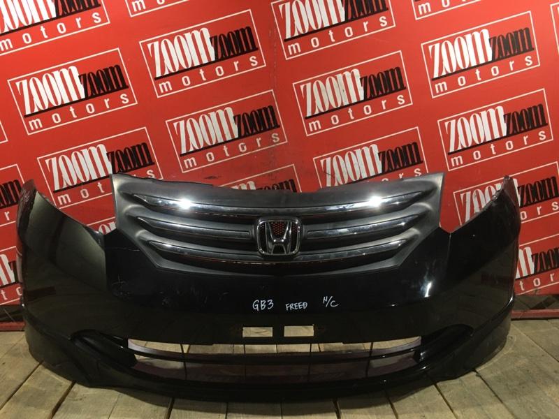 Бампер Honda Freed GB3 L15A 2007 передний баклажан