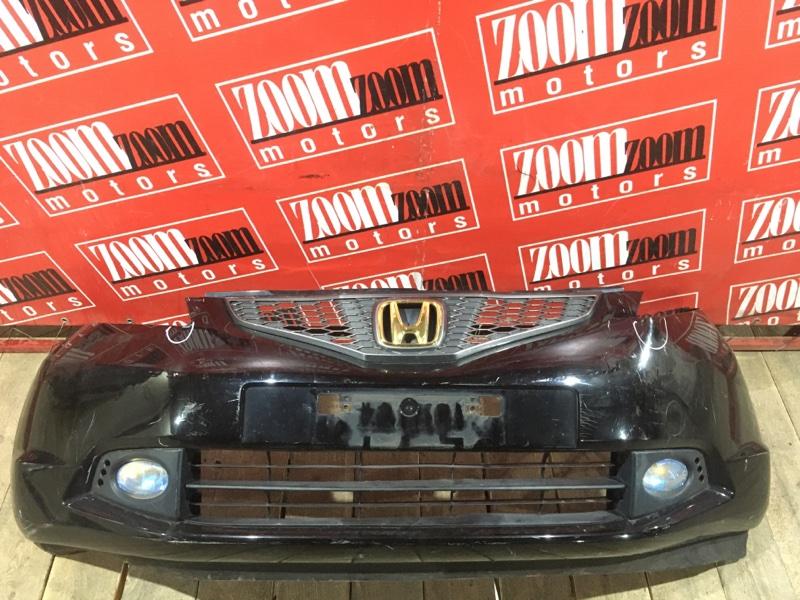 Бампер Honda Fit GE6 L13A 2005 передний черный