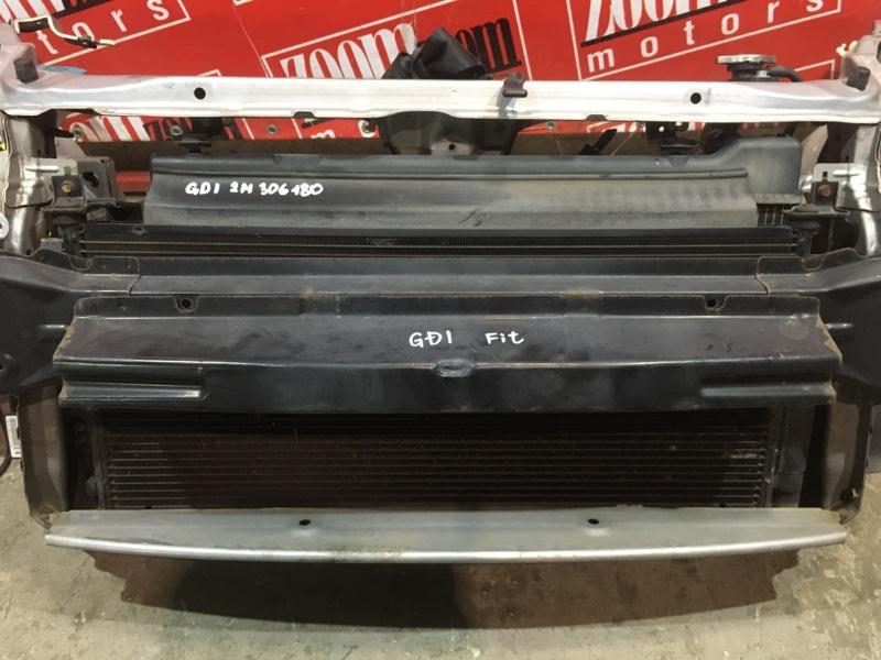 Радиатор кондиционера Honda Fit GD1 L13A 2004 передний