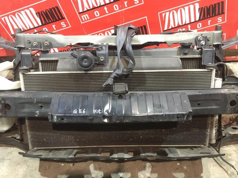 Радиатор кондиционера Honda Fit GE6 L13A 2005 передний