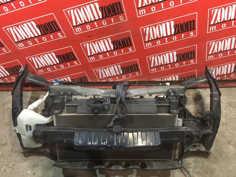 Рамка радиатора Honda Fit GE6 L13A 2005 передняя черный