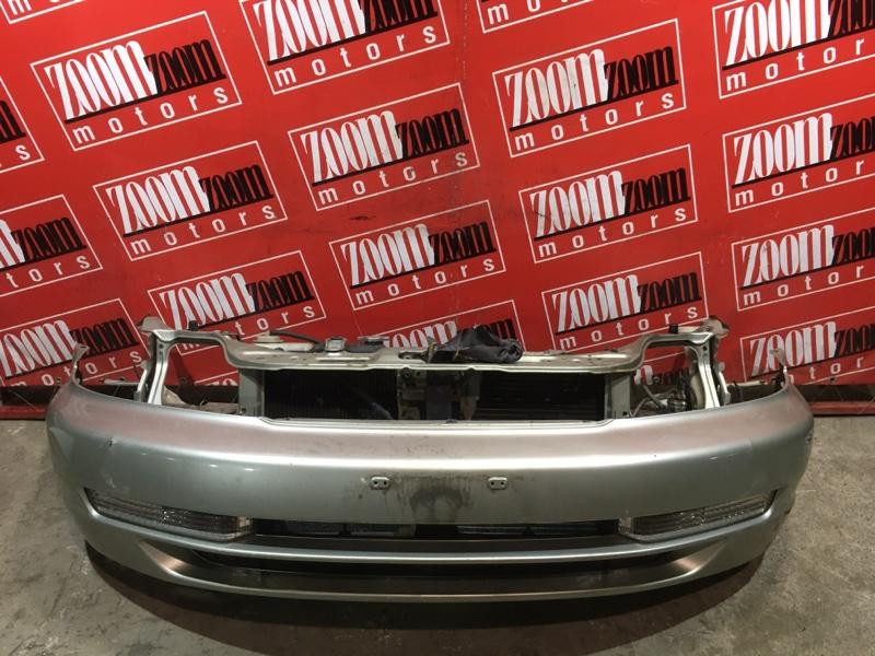 Бампер Honda Domani MB3 D15B 1995 передний серебро