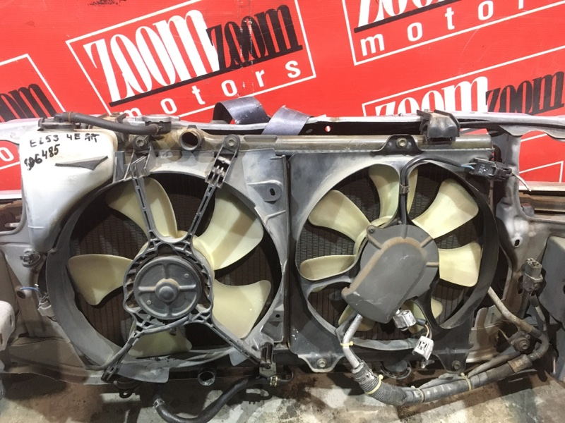 Радиатор двигателя Toyota Corsa EL53 4E-FE 1994 передний