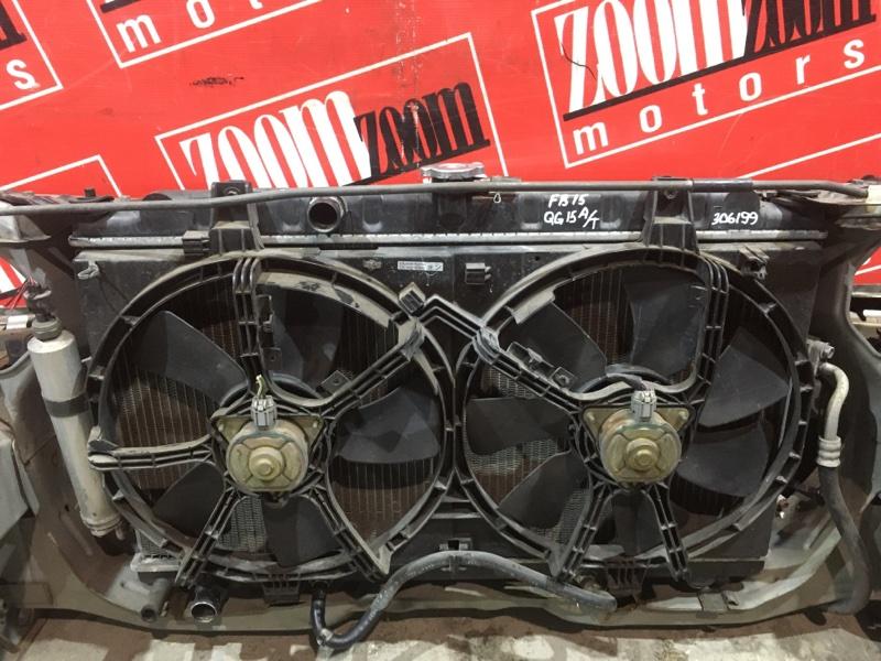 Радиатор двигателя Nissan Sunny FB15 QG15DE 2002 передний