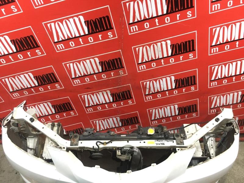 Рамка радиатора Mazda Premacy CP8W FP-DE 2001 передняя белый