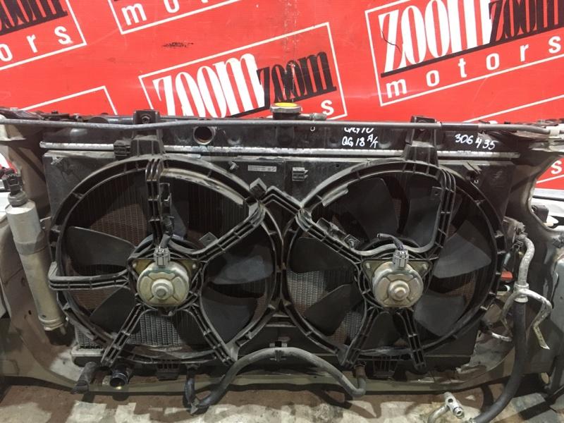 Радиатор двигателя Nissan Bluebird Sylphy QG10 QG18DE 2003 передний