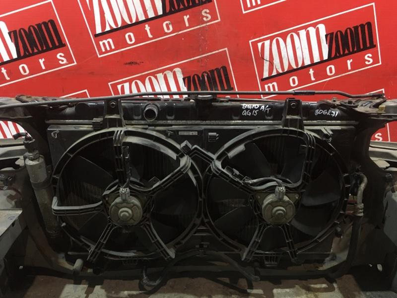Радиатор двигателя Nissan Bluebird Sylphy FG10 QG15DE 2003 передний