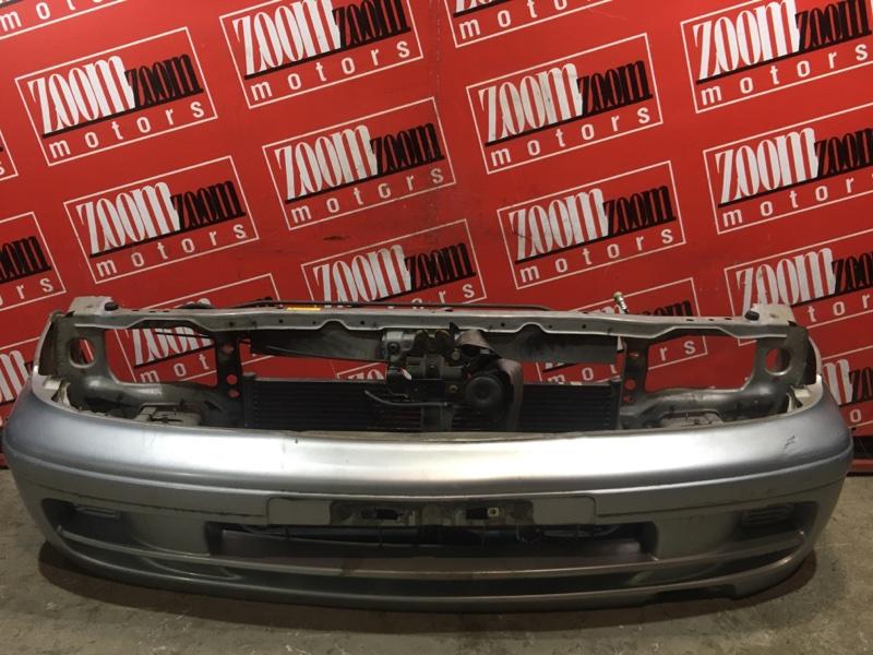 Бампер Nissan Pulsar FN15 GA15DE 1995 передний серебро