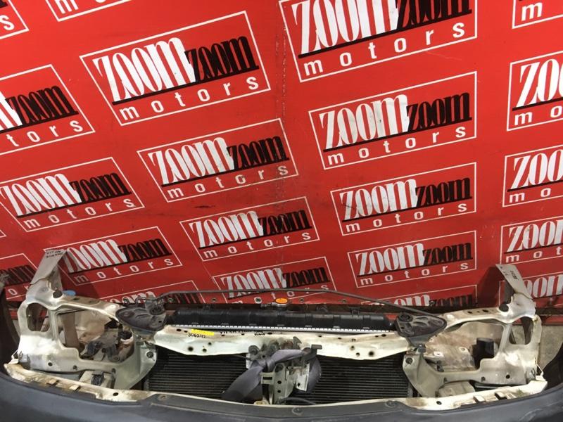 Рамка радиатора Nissan Ad Y11 QG13DE 1999 передняя белый
