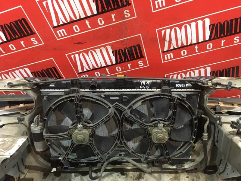Радиатор двигателя Nissan Ad Y11 QG13DE 1999 передний
