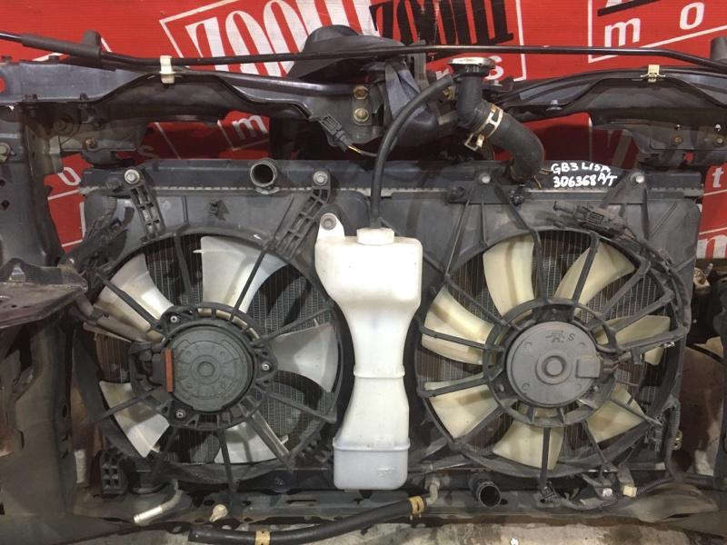 Радиатор двигателя Honda Freed GB3 L15A 2007 передний