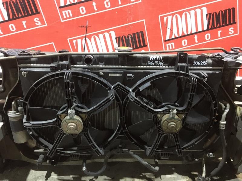 Радиатор двигателя Nissan Wingroad WFY11 QG15DE 2002 передний