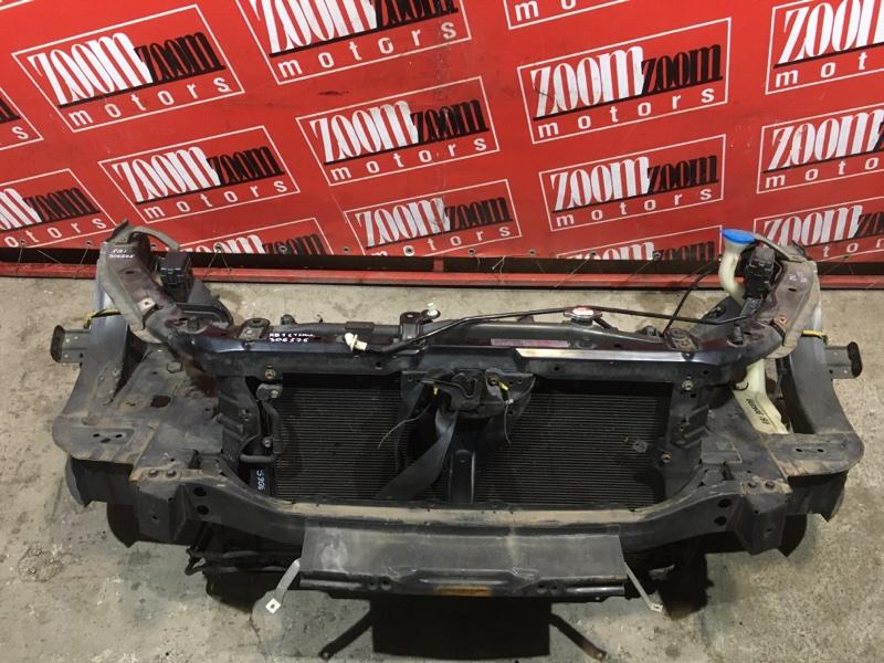 Рамка радиатора Honda Odyssey RB1 K24A 2003 передняя черный