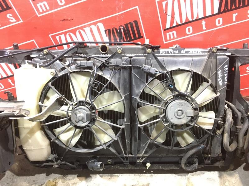 Радиатор двигателя Honda Odyssey RB1 K24A 2003 передний