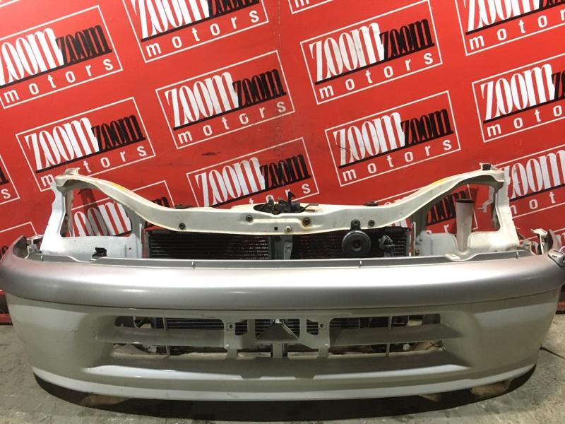 Бампер Toyota Raum EXZ10 5E-FE 1997 передний белый перламутр