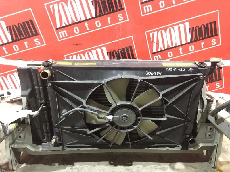 Радиатор двигателя Toyota Wish ZNE10 1ZZ-FE 2003 передний