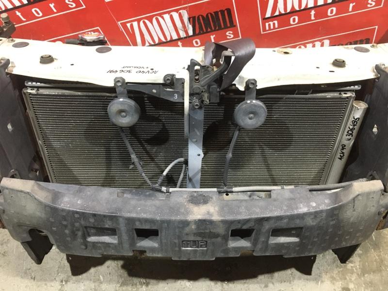 Радиатор кондиционера Toyota Camry ACV40 2AZ-FE 2006 передний