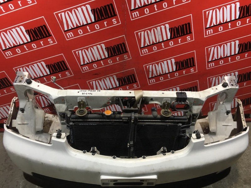 Рамка радиатора Mitsubishi Dion CR9W 4G93 2002 передняя белый