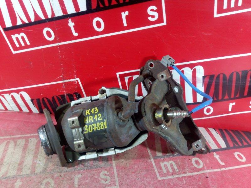 Коллектор выпускной Nissan March K13 HR12DE 2008