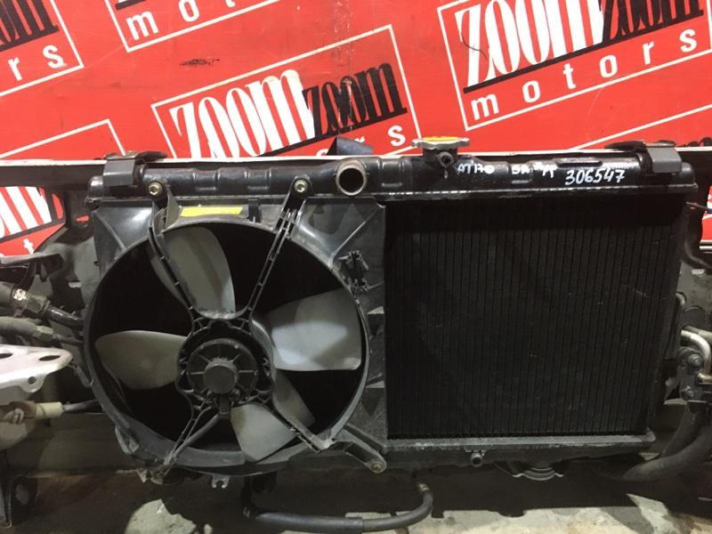 Радиатор двигателя Toyota Carina AT170 5A-FE 1988 передний