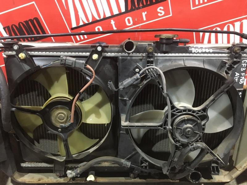Радиатор двигателя Honda Accord CF3 F18B 1997 передний