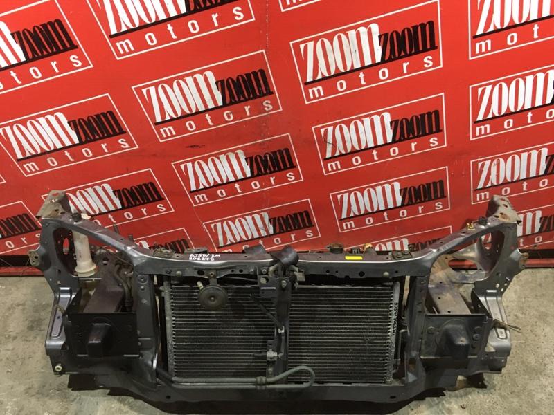 Рамка радиатора Mazda Familia S-Wagon BJ5W ZL-DE 2000 передняя серый