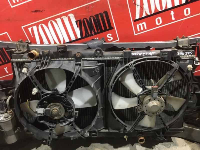 Радиатор двигателя Mazda Familia S-Wagon BJ5W ZL-DE 2000 передний