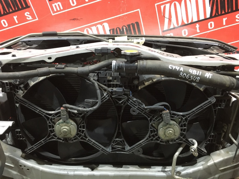 Радиатор двигателя Mitsubishi Lancer X CY4A 4B11 2007 передний