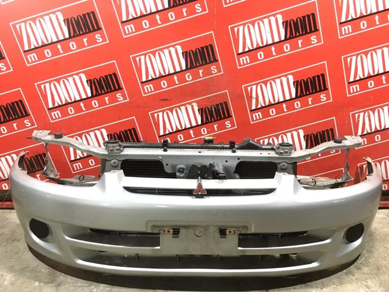 Бампер Mitsubishi Mirage CJ1A 4G15 1997 передний серебро