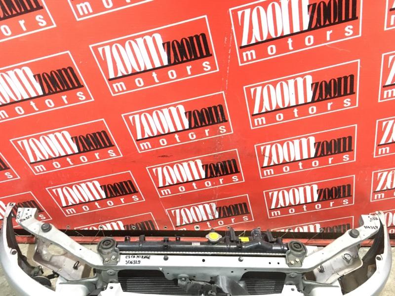 Рамка радиатора Mitsubishi Mirage CJ1A 4G15 1997 передняя серый