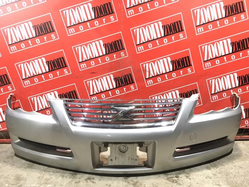 Бампер Toyota Mark X GRX120 4GR-FSE 2004 передний серебро