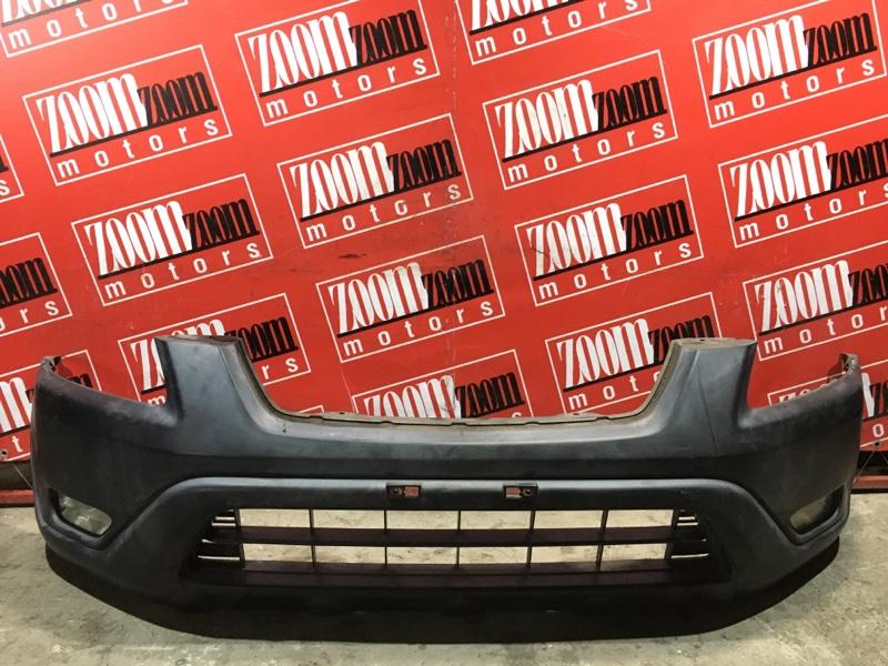Бампер Honda Cr-V RD5 K20A 2001 передний черный