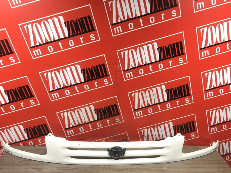 Планка под фару Toyota Raum EXZ10 5E-FE 1997 передняя белый перламутр