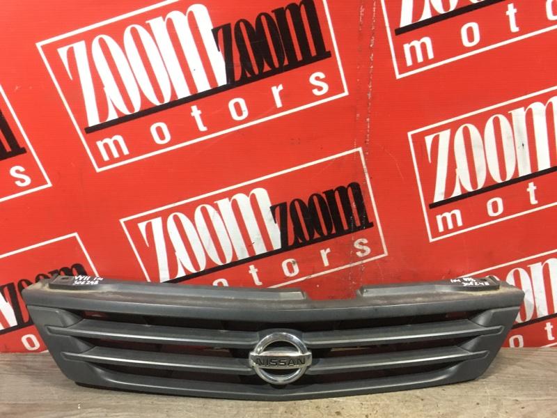 Решетка радиатора Nissan Ad Y11 QG13DE 1999 передняя черный