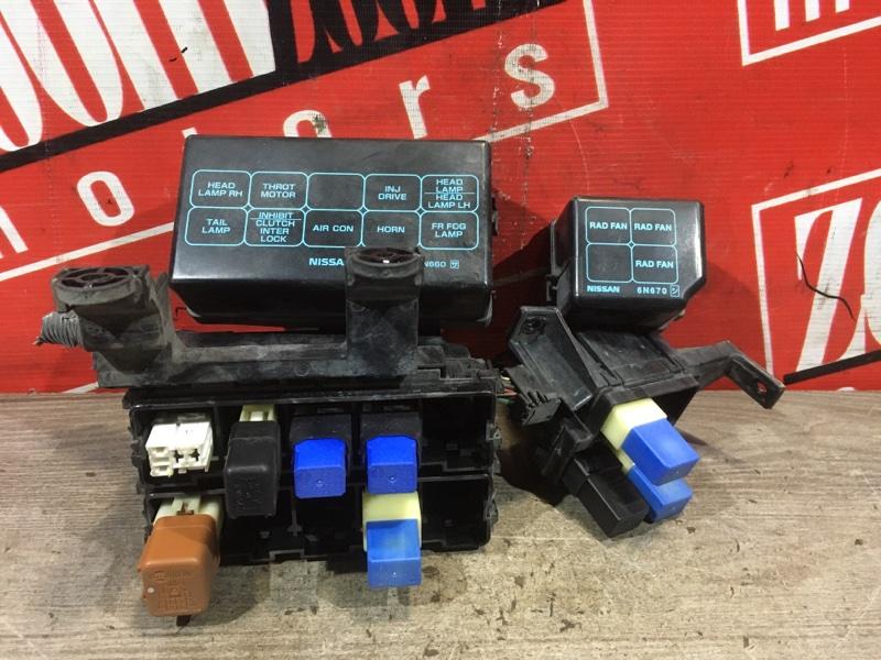 Блок реле и предохранителей Nissan Bluebird Sylphy FG10 QG15DE 2003 передний