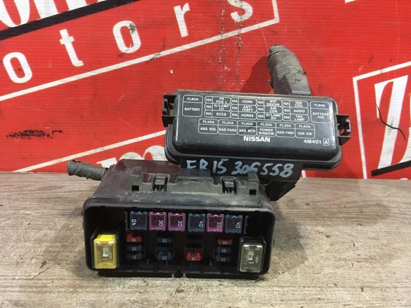 Блок реле и предохранителей Nissan Sunny FB15 QG15DE 1998 передний