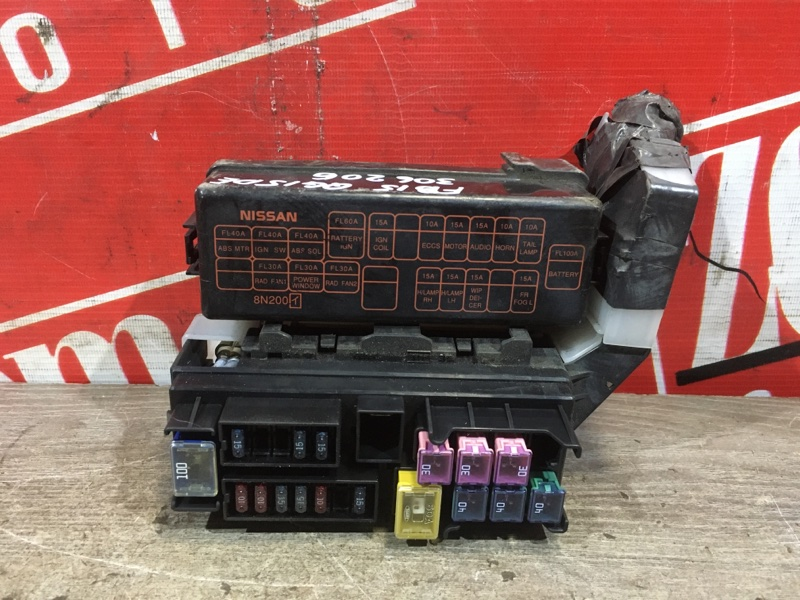 Блок реле и предохранителей Nissan Sunny FB15 QG15DE 2002 передний