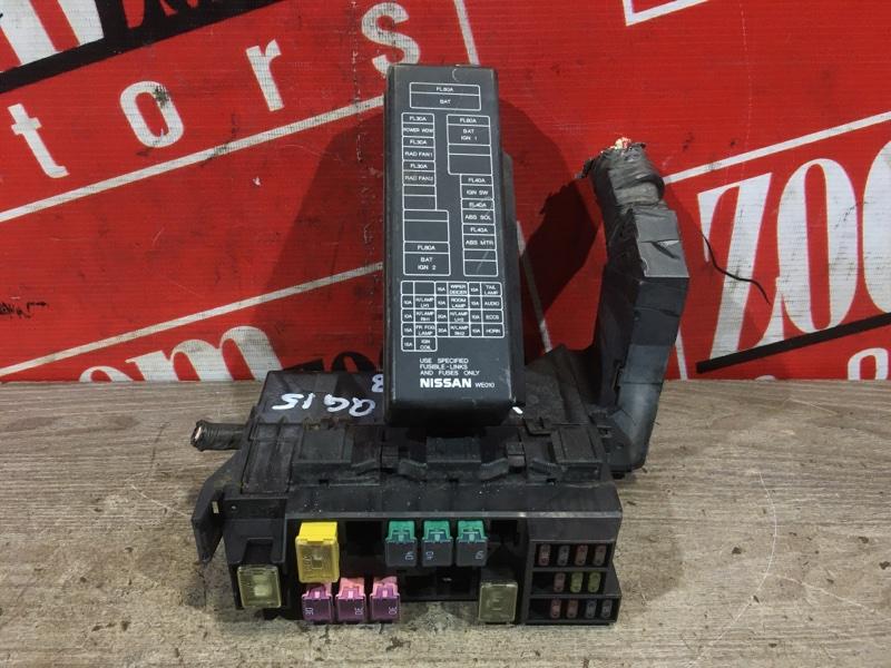 Блок реле и предохранителей Nissan Wingroad WFY11 QG15DE 2002 передний