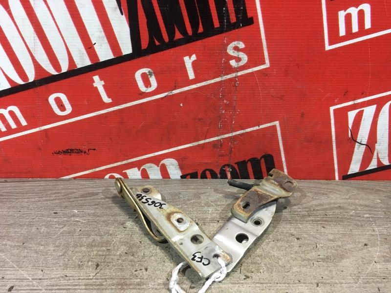 Кронштейн капота Honda Accord CF3 F18B 1997 передний серый